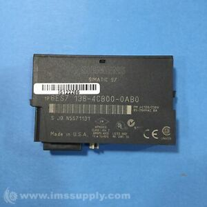 Siemens 6ES7138-4CB00-0AB0 Power Module, 120V - 230V USIP