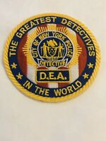 GREATEST DETECTIVES IN THE WORLD DETECTIVE ENDOWMENT ASSOCIATION LASER CUTPATCH
