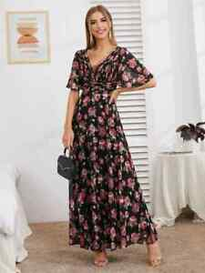 cherrie424: NWOT Shein Premium Floral Maxi Dress
