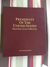 34 First Day Cover Postcard Collection - Presidents Of The United States * 1986