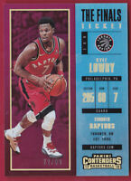 2017-18 Panini Contenders The Finals Ticket #68 Kyle Lowry #22/99