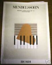 F. Mendelssohn - Rondò Capriccioso Op. 14 - Ricordi