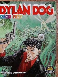 Dylan Dog Color Fest, n. 9 Comic. 4 storie complete a colori
