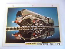 "CARTE FICHE TRAIN 232 U1 FULGUREX EN ""I"""