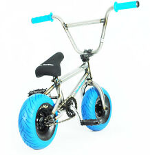 MINI BMX MINI ROCKER Trick Bike Dirt  Monkey Bike Stunt Bike BLUE