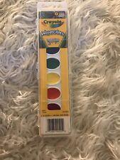 Crayola Washable Watercolors 8 Colors 071662005252