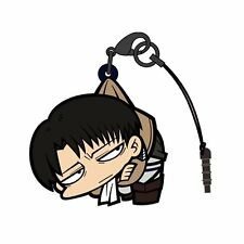 Attack on Titan Levi Character Cospa Pinch Tsumamare Phone Strap V.2 AoT Anime