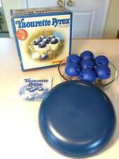 Vintage New in Box PYREX Yaourette Yogurt Making Set Bowl, Cups & Instructions