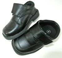 Teeny Toes Infant Milo Triple-Strap Casual Shoes Grey Baby Boys Size 4W