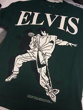 Vintage 80s Elvis Presley Pop Art T-shirt Small. 1988 The King Graceland SS