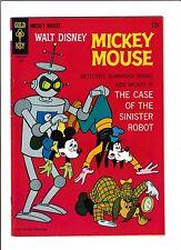 Mickey Mouse No.113  : 1967 :   : Robot Cover! :
