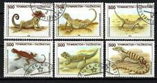 Tadjikistan 1994 reptiles (178) Yvert n° 54 à 59 oblitéré used