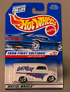 Hot Wheels  COLLECTOR FIRST EDITION DAIRY DELIVERY GOT MILK