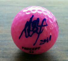 AI MIYAZATO Auto Signed Evian Masters Logo Golf Ball  Certificate WINNER  RARE
