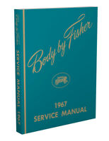 1967 Olds Body Repair Manual 67 Oldsmobile Fisher Service Repair Book