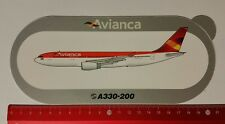 Aufkleber/Sticker: Airbus A330-200 / Avianca (0804177)