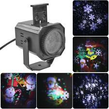 12Patterns Weihnachten Außen Landschaft LED Lampe Laser Fairy Projektor Licht