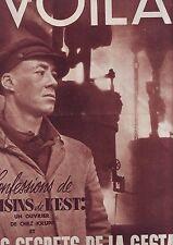VOILA - magazine du 24 mars 1939 numero 418 - secrets de la gestapo