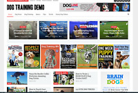 Dog Training Guides / Affiliate product website,100% automated