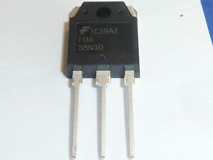 FQA38N30 38N30 MOSFET N-CH 300V 38.4A TO-3P -BRAND NEW