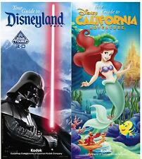 Disneyland/CA Adventure Guides January 20-26, 2012 w/schedule