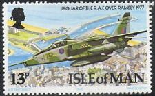 RAF SEPECAT JAGUAR Over RAMSEY / Aircraft Stamp (Isle of Man 1978)