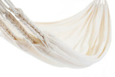 Double Hammock Off White Cream Made In Ecuador Camping  Amazing Quality New