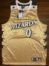 Rare Adidas NBA Washington Wizards Gilbert Arenas Agent 0 Basketball Jersey