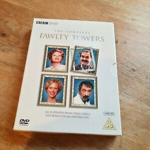 3 x Complete series DVD Box sets, Fawlty Towers, Dads Army & Rising Damp - REG 2