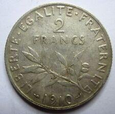 Très belle monnaie - 2 Francs Semeuse - 1910 -