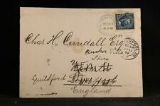 Philippines: Military Station Number 1 1899 Cover to England & Forwarded