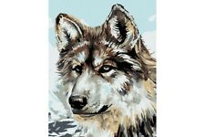 PAINT BY NUMBERS KIT GREY WOLF