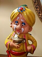 New listing Vintage Genie Sultan Figural Musical Decanter Bar Bottle & Tools How Dry I Am