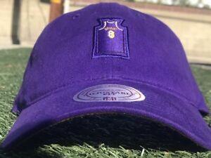 Kobe Bryant #8 Jersey Mitchell and Ness Dad Hat Purple Gold LA Lakers Mamba Rare