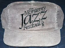 RARE Vintage Monterey Jazz Festival Snap Back Cord Hat Cap 80 s California  Music 940de32a99cd