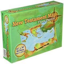 New Testament Map Floor Puzzle, Hardcover