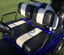 Yamaha G-11 - G-22 Staple On Golf Cart Seat Cover (2 Stripe)
