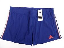 Adidas W  TS Short mit Innenhose Tennis / Sport  dunkelblau  rot  L / 44  Neu
