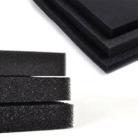 50x50cm Foam Pad Filter Sponge Aquarium Fish Tank 2/4/5cm Filtration Black home