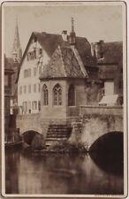 Echtes Orig. 1890er J. Kab. Karte NÜRNBERG von C. Fuchs
