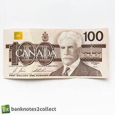 CANADA: 1 x 100 Canadian Dollar Banknote. 1988.