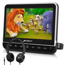 "10.1"" Car DVD Player Monitor HDMI USB/SD AV IN/OUT with Headrest Mount Headphone"