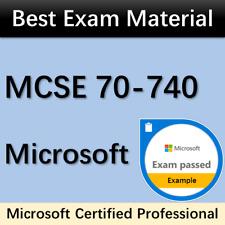 70-740 Exam Q&A PDF MCSE MCSA