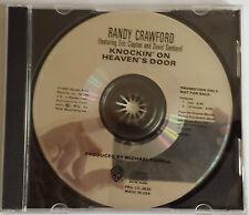 Randy Crawford Knockin' On Heavens Door Promotional CD Single