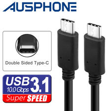 USB Type-C to USB C 3.1 Male to Male Sync & Charging Cable Type C to Type C Mac