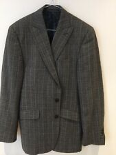Alexandre Box Check 2 Piece Suit Size 40 UK L