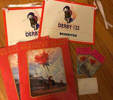 Kentucky Derby1996 (122)  Program Tickets Stir Stick Seat Ephemera