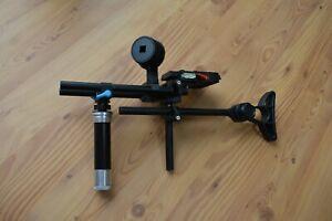 Rig -- Kamerahalter mit Follow Focus -- Schulterstativ -- Schwebestativ --