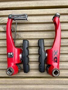Shimano DEORE DX BR-M600 V-Brake - LTD Ed Red - Retro Mountain Bike MTB