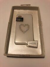 😍 coque protection téléphone iphone 4 4s swarovski blanc housse rigide